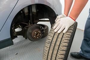 Davenport Tire Change